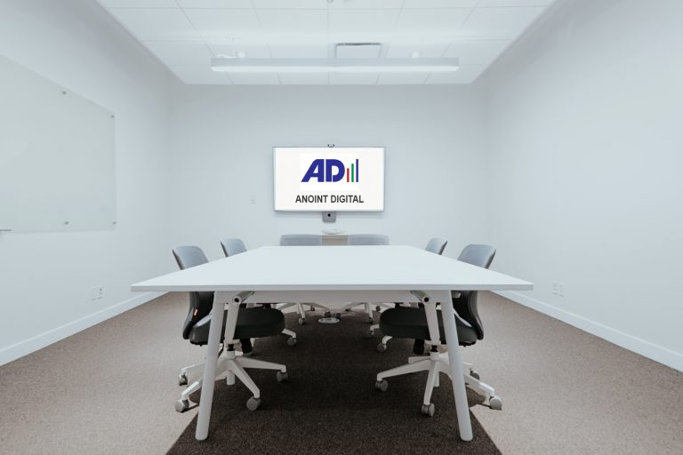 Anoint Digital Meeting room